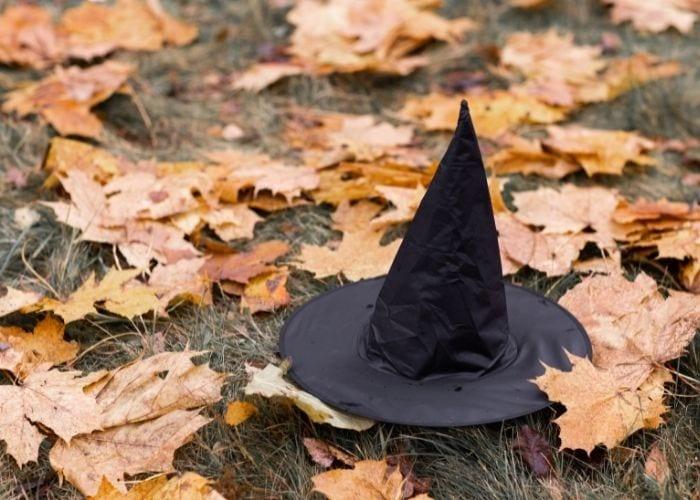 Halloween Instagram Captions - witch hat