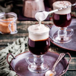 Irish Coffee - cream added