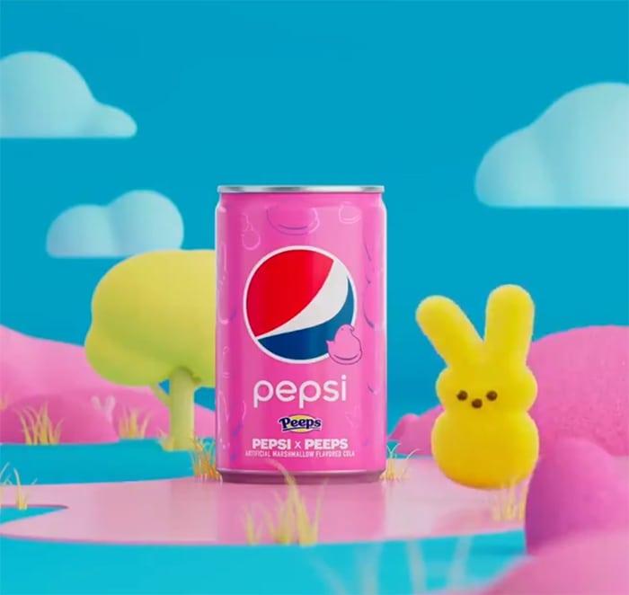 Peeps Pepsi - Pink