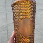 Starbucks Spring Cups - Gold Studded Tumbler