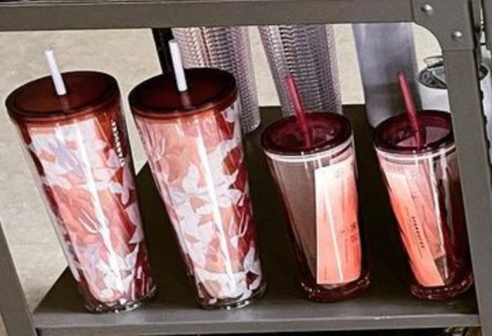 Starbucks Spring Cups - Pink Floral Tumbler