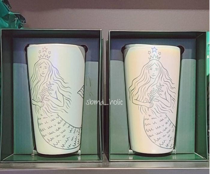 Starbucks Spring Cups - Green Ceramic Mermaid Mug
