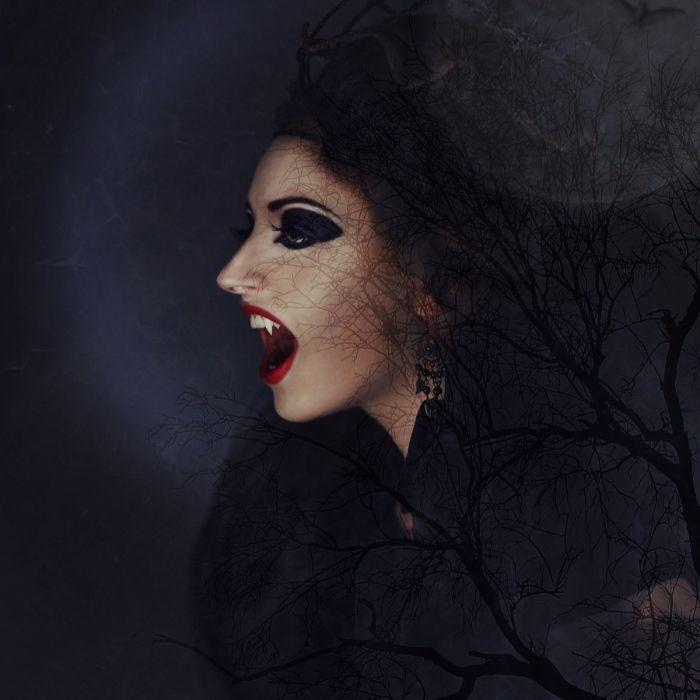 Halloween Instagram Captions - vampire