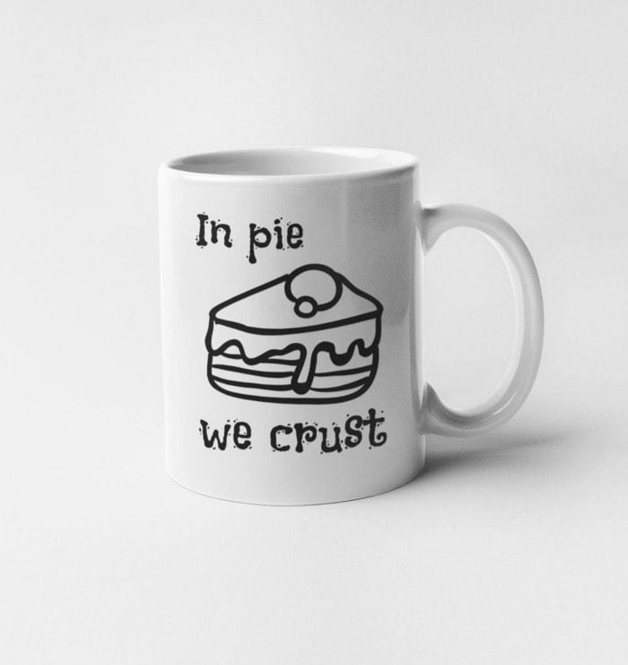 Pie Puns - in pie we crust