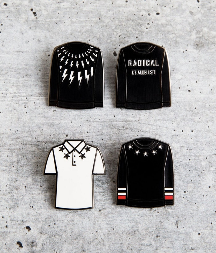 Schitt's Creek Gifts - David Rose sweater collection pins