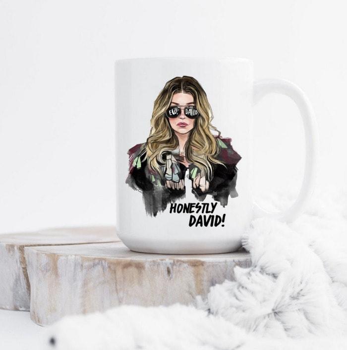 Schitt's Creek Gifts - Honestly David! Alexis Rose mug