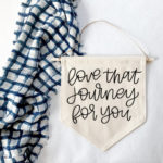Schitt's Creek Gifts - Love that journey for you wall hanging