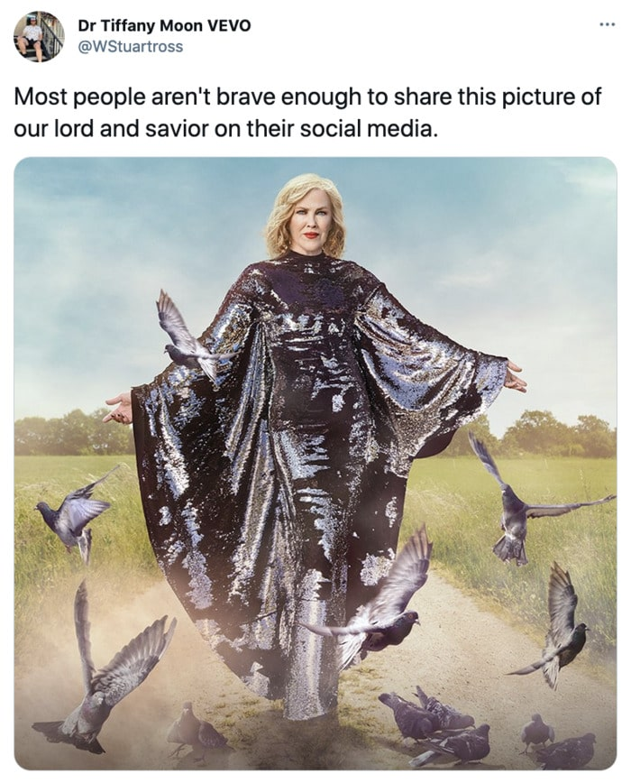Schitt's Creek memes - Moira Rose lord and savior