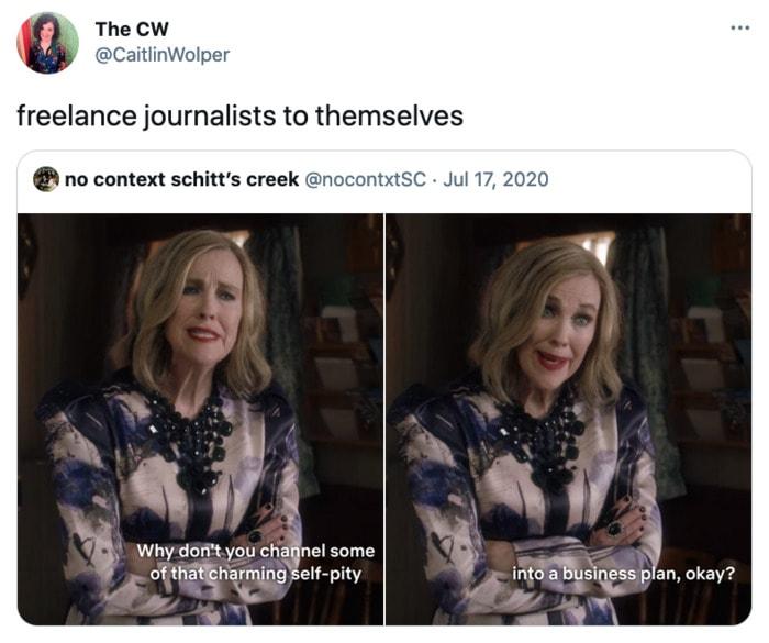 Schitt's Creek memes - charming self pity