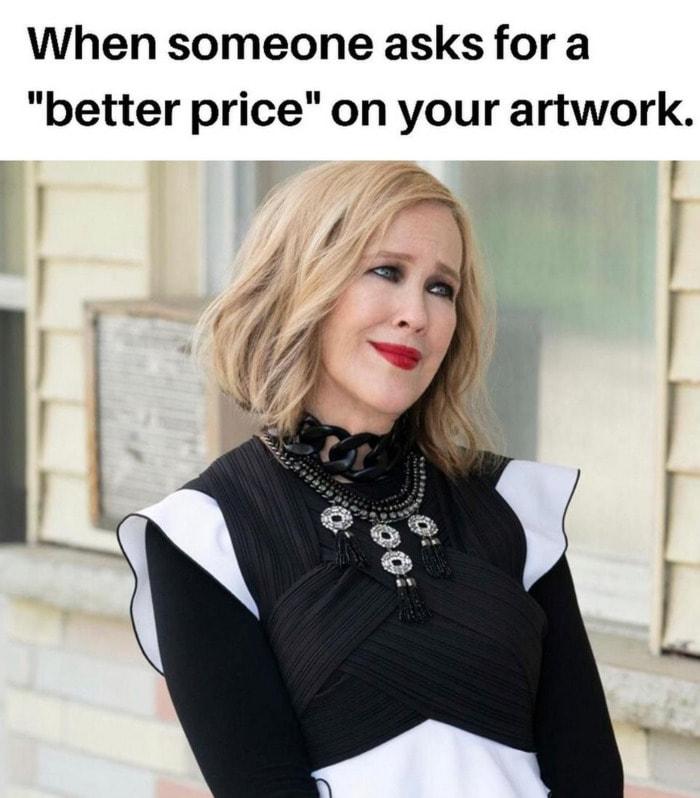 Schitt's Creek memes - better price on artwork