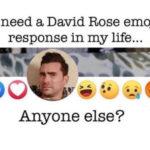 Schitt's Creek memes - David Rose emoji