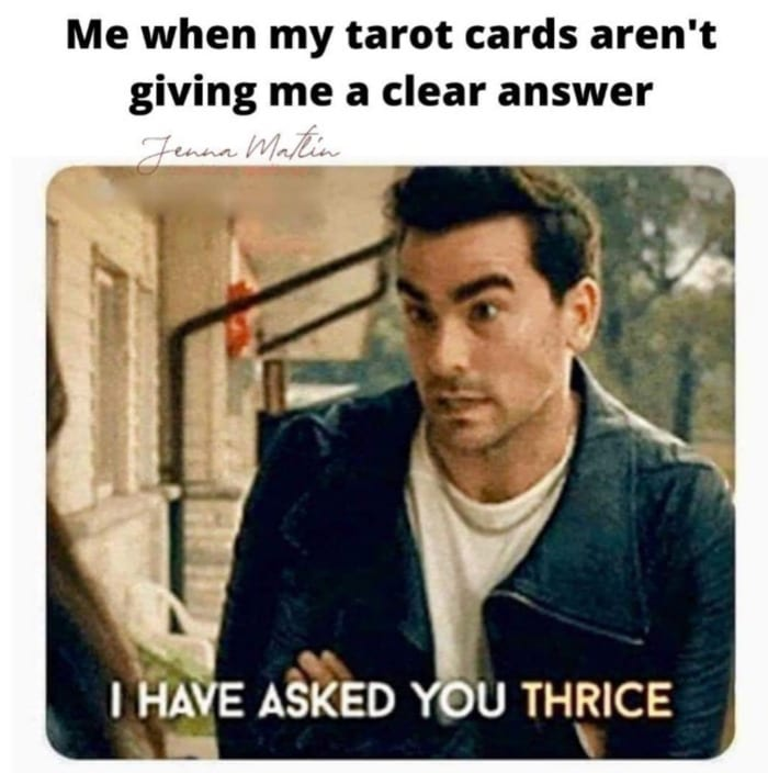 Schitt's Creek memes - I have asked you thrice