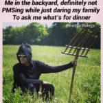 Schitt's Creek memes - David Rose amish field