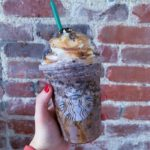 Starbucks Girl Scout Drinks - chocolate chip cookie frappe