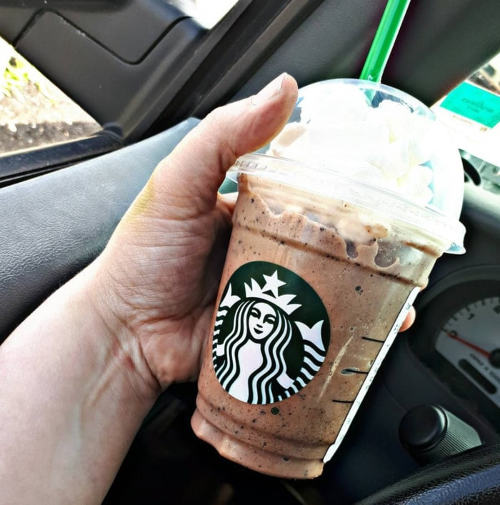 Starbucks Girl Scout Drinks - thin mint cookie frappuccino