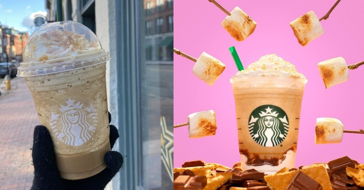 Starbucks Girl Scout Cookie Frappuccinos