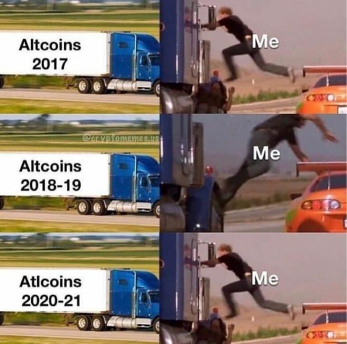 Crypto Memes - Altcoins