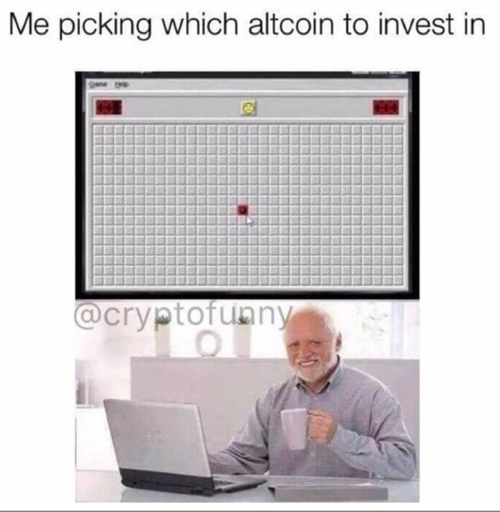 Crypto Memes - Minesweeper