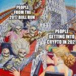 Crypto Memes - Roller Coaster