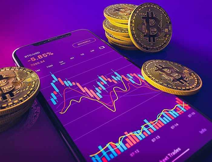 How to Buy Cryptocurrency - Trading App Purple