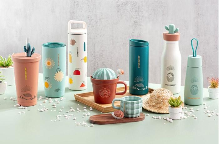 Starbucks Happy Hedgehog Collection