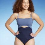 Best Swimsuits 2021 - Cutout navy blue suit