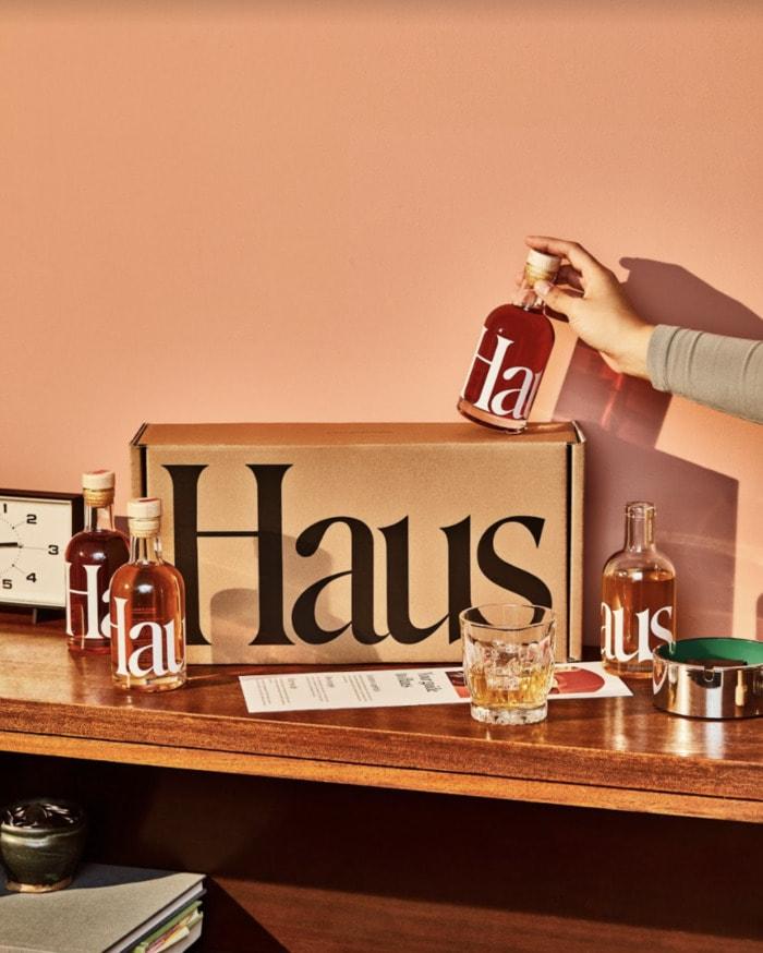 Haus Sampler Kit - bottles around the box