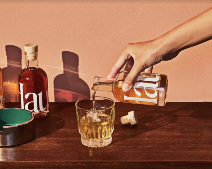 Haus Sampler Kit - pouring a glass of aperitif