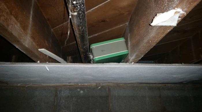Hidden Things Unexpected - secret money in attic