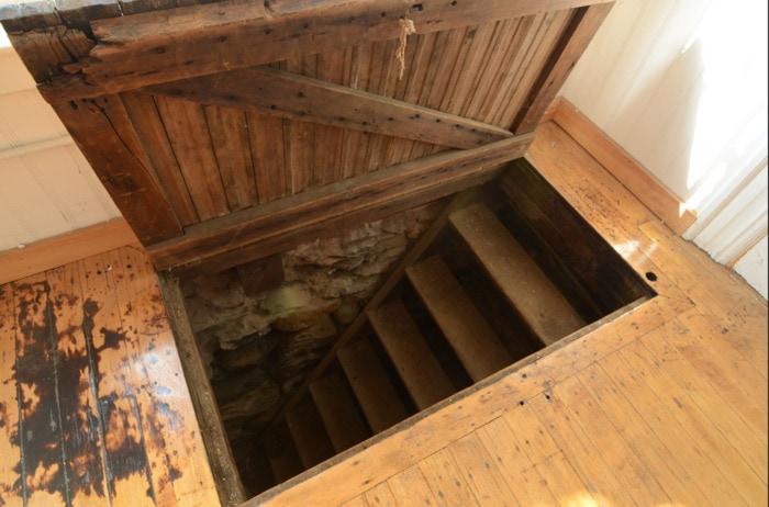 Hidden Things Unexpected - trap door in office