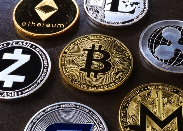 How to Buy Cryptocurrency - various types of crypto
