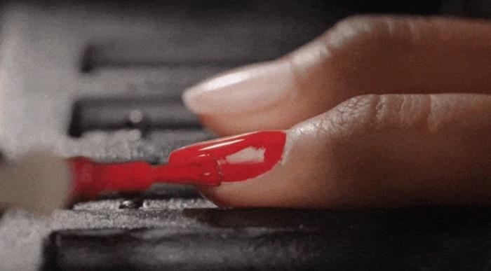 Nimble Nails - robot painting nails red