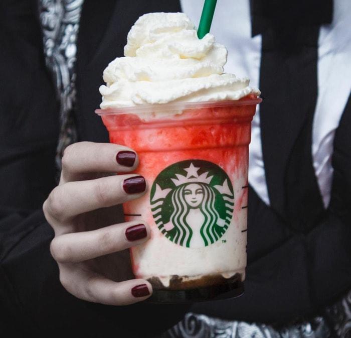 Starbucks Frappuccino Flavors - Vampire frappuccino