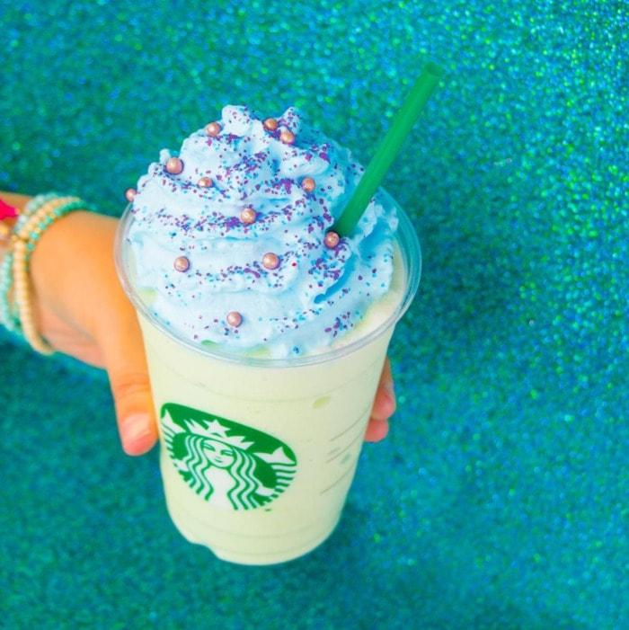 Starbucks Frappuccino Flavors - Mermaid frappuccino
