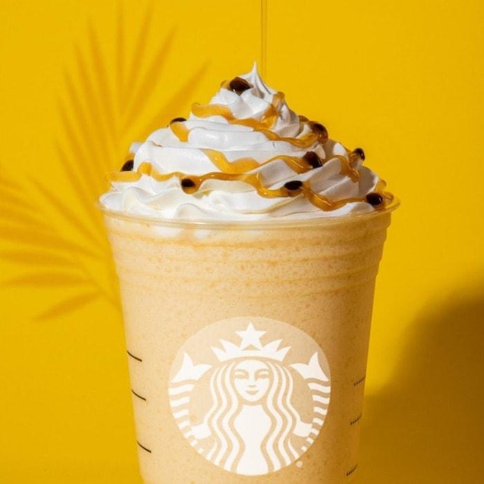 Starbucks Frappuccino Flavors - Passion Fruit Frappuccino