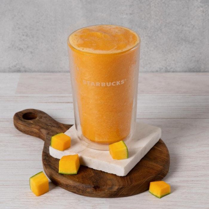 Starbucks Frappuccino Flavors - Mango Passion Fruit Frappuccino