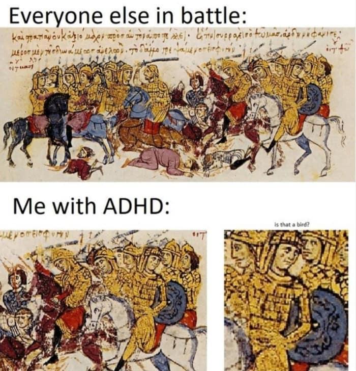 ADD Memes - Battle