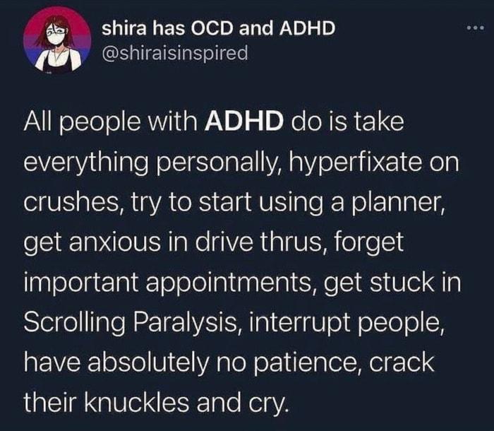 ADD Memes - ADHD
