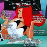 Aquarius Memes - signs