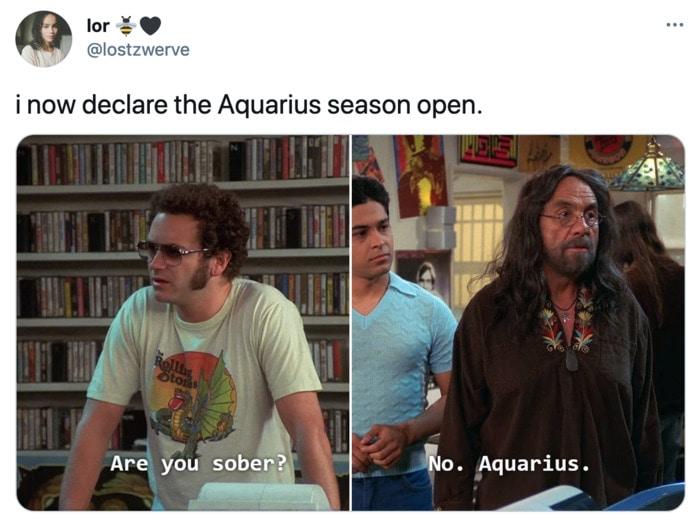 Aquarius Memes - season