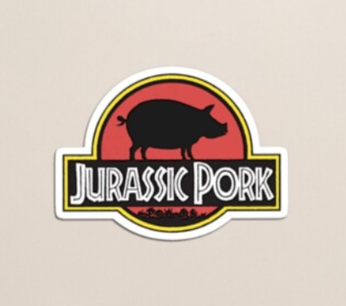 Bacon Puns - Jurassic Pork