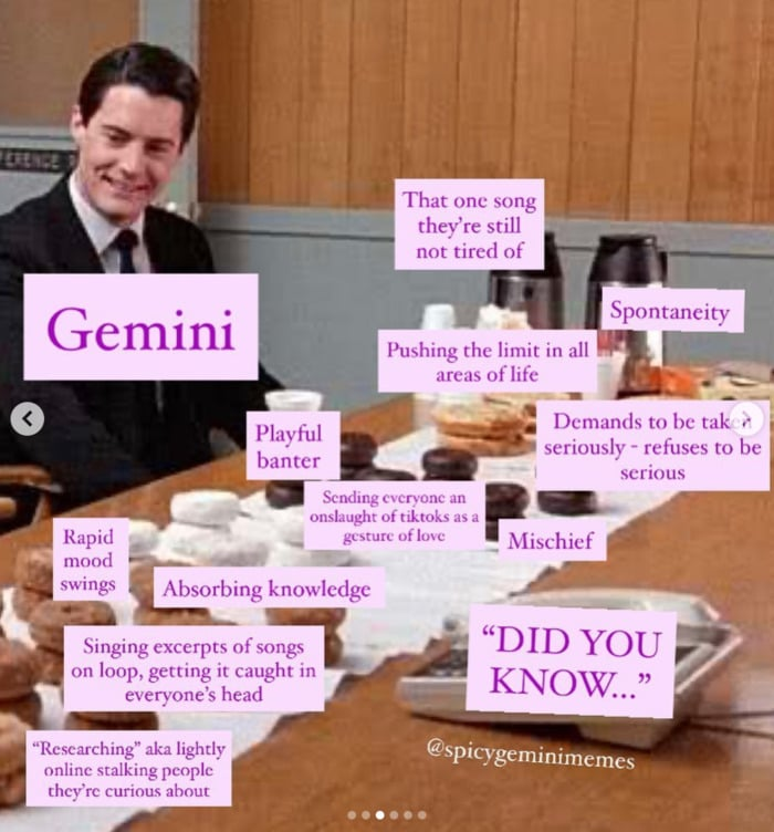 Gemini Memes - Kyle McLachlan
