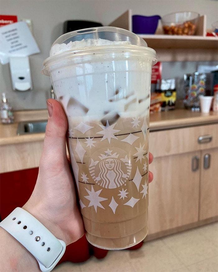 Starbucks Secret Menu Iced Coffee Drinks - Cookies and Cream Cold Brew
