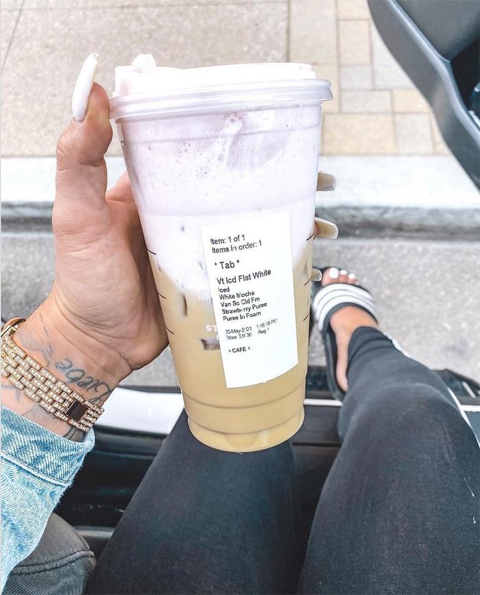 Starbucks Secret Menu Iced Coffee Drinks - White Chocolate Strawberry Dream