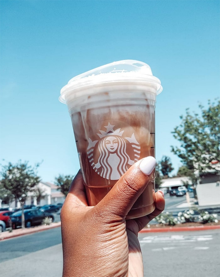 Starbucks Secret Menu Iced Coffee Drinks - Honey Bee Cold Brew