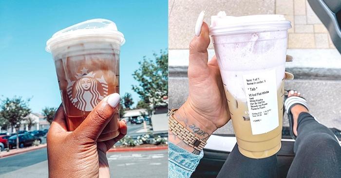 Starbucks Secret Menu Iced Coffee Drinks