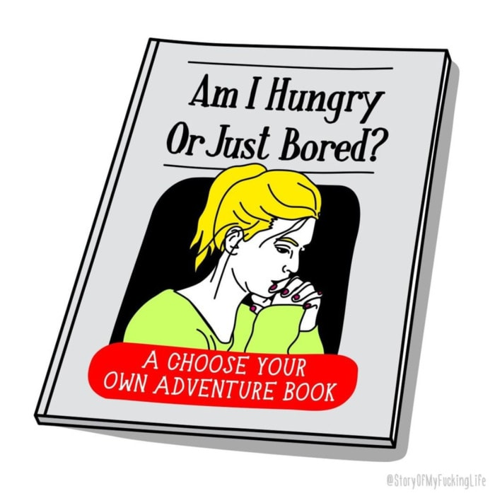 hungry or just bored