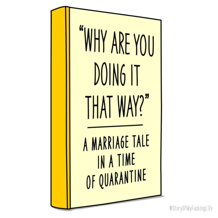 Story of My F*cking Life - why are you doing it that way marriage