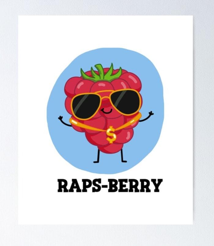 Berry Puns - raps-berry