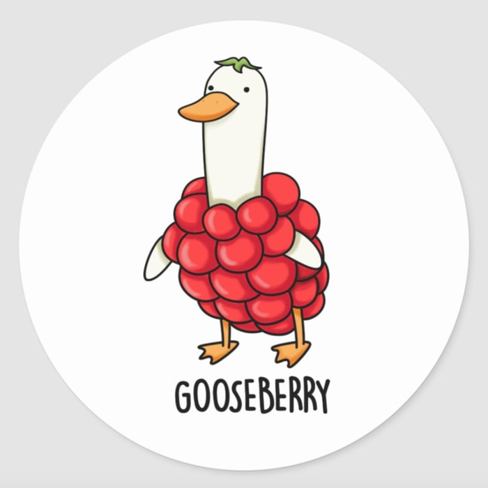 Berry Puns - gooseberry